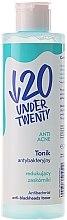 Kup Antybakteryjny tonik przeciw zaskórnikom - Under Twenty Anti Acne Tonik