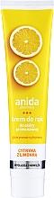 Kup Glicerynowo-cytrynowy krem do rąk Cytryna z limonką - Anida