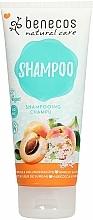 Kup Szampon do włosów Morela i czarny bez - Benecos Natural Care Apricot & Elderflower Shampoo