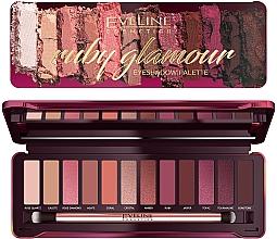Kup Paleta cieni do powiek - Eveline Cosmetics Ruby Glamour