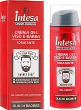 Kup Nawilżający krem-żel do twarzy i brody - Intesa Gel Cream Face And Beard