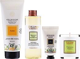 Kup Zestaw - Collines De Provence Gift Box (h/cr/30ml + shr/gel/200ml + candle/75g + aroma/diffuser/200ml)