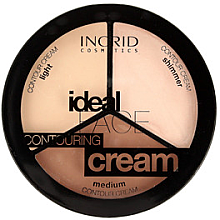 Kup Paletka do konturowania twarzy - Ingrid Cosmetics Ideal Face Countouring Cream