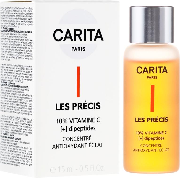 Antyoksydacyjne serum z witaminą C do twarzy - Carita Les Precis 10% Vitamine C [+] Dipeptides Concentre — фото N1