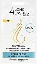 Kup Ekspresowa maska-serum do włosów Nawilżenie i wygładzenie - Long4Lashes Hair Hydro Power