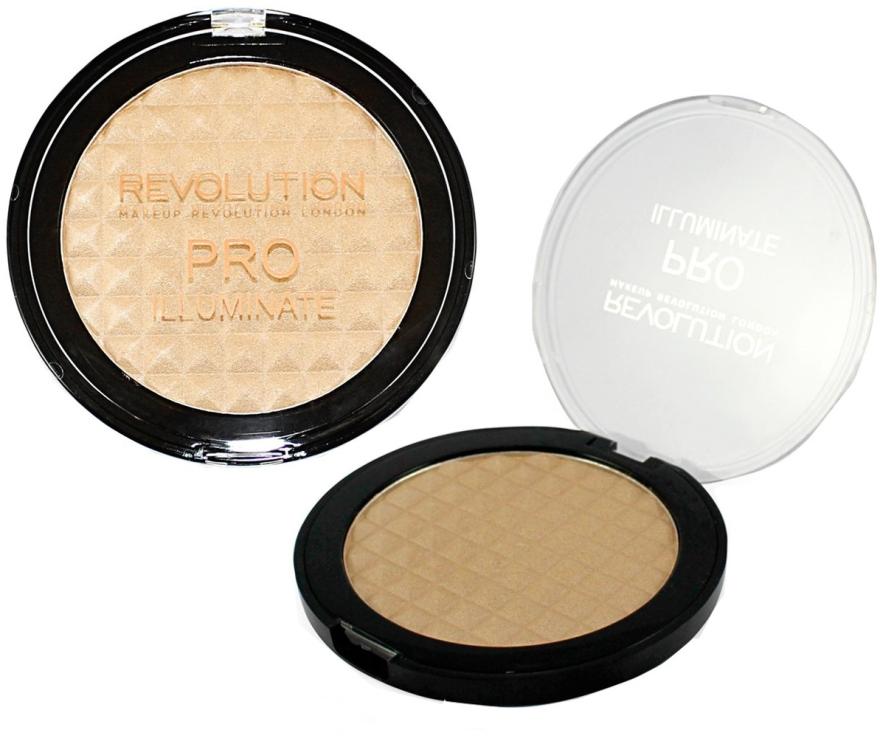 Rozświetlacz do twarzy - Makeup Revolution Pro Illuminate — фото N1