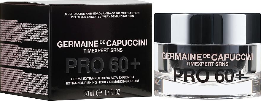 Superregenerujący krem ekstraodżywczy do twarzy 60+ - Germaine de Capuccini Timexpert SRNS PRO60+Extra Nourishing Highly Demanding Cream
