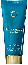 Kup Oczyszczająca maska błotna do skóry normalnej i tłustej - Mineralium Purifying Mud Masqu
