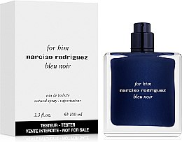 Narciso Rodriguez for Him Bleu Noir - Woda toaletowa (tester bez nakrętki) — фото N2