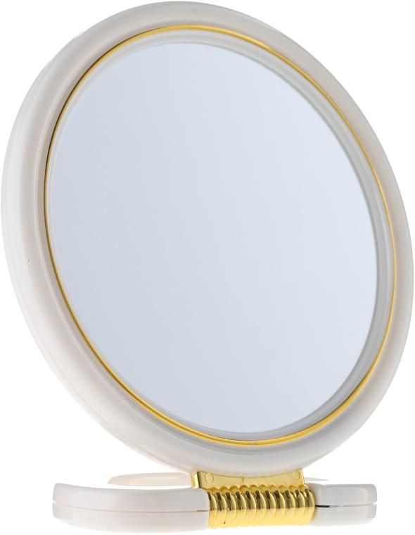 Lusterko kosmetyczne, 5039, białe - Top Choice — фото N1