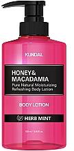 Kup Balsam do ciała Ziołowa mięta - Kundal Honey & Macadamia Body Lotion Herb Mint