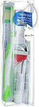 Kup Akcesoria podróżne do higieny jamy ustnej - White Glo Travel Pack (t/paste/24g + t/brush/1 + t/pick/8)