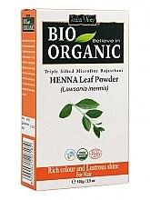 Kup Proszek z liści henny do farbowania włosów - Indus Valley Bio Organic Henna Leaf Powder