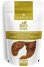 Kup Bezbarwna naturalna roślinna odżywka do włosów długich - Orientana Bio Henna
