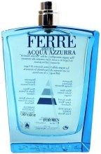 Kup Gianfranco Ferré Acqua Azzurra - Woda toaletowa (tester bez nakrętki)