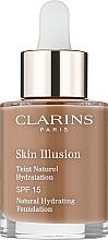 Kup PRZECENA! Naturalny podkład nawilżający - Clarins Skin Illusion Foundation SPF 15 *