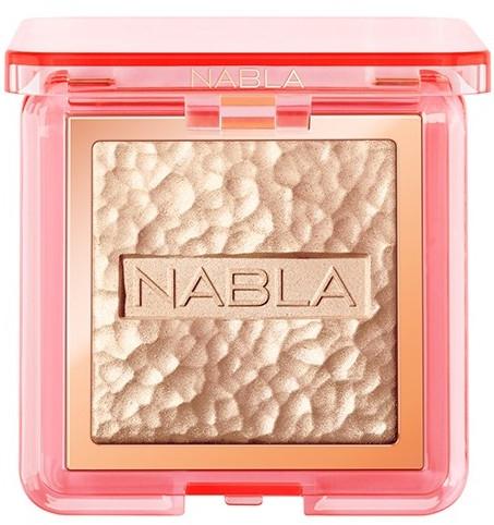 Rozświetlacz do twarzy - Nabla Skin Glazing Highlighter