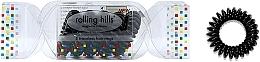 Kup Gumki do włosów, czarne, 5 szt. - Rolling Hills 5 Traceless Hair Rings Cracker Black