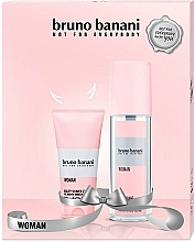 Kup Zestaw (deo 75 ml + sh/gel 50 ml) - Bruno Banani Woman