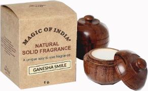 Naturalne perfumy w kremie, Ganesha Smile - Shamasa — фото N1