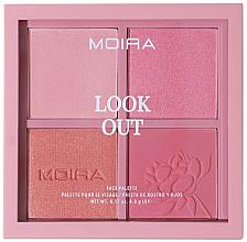 Kup Paleta do makijażu twarzy - Moira Look Out Palette