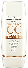 Kup Krem CC do twarzy - Pierre Cardin Nude Face CC Foundation Second Skin SPF 15