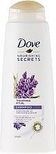 Kup Pogrubiający szampon do włosów Olejek lawendowy i ekstrakt z rozmarynu - Dove Nourishing Secrets Thickening Ritual Shampoo
