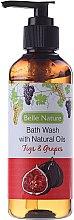 Kup Żel pod prysznic z naturalnymi olejami o zapachu figi z winogronami - Belle Nature Bath Wash Figs&Grapes
