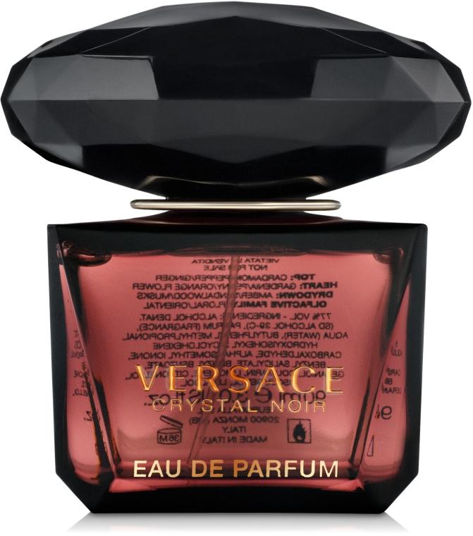 Versace Crystal Noir - Woda perfumowana (tester z nakrętką)