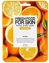 Kup Odświeżająca maseczka w płachcie do twarzy Pomarańcza - Superfood For Skin Facial Sheet Mask Orange Refreshing