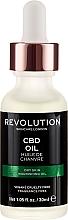 Odżywczy olejek kondycjonujący do twarzy - Revolution Skincare Nourishing CBD Oil — фото N2