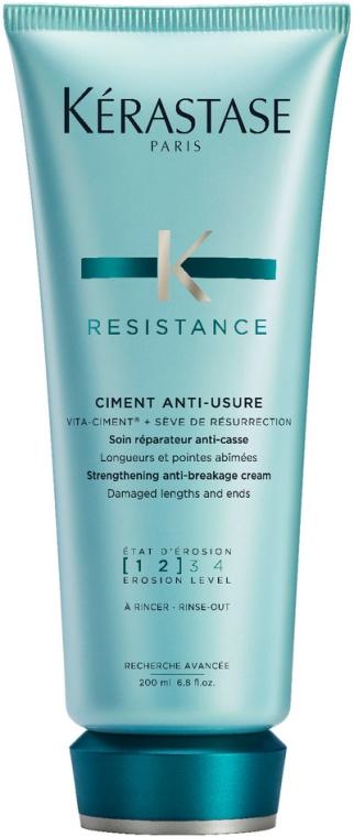 Kuracja odbudowująca do włosów słabych i zniszczonych - Kérastase Resistance Ciment Anti-Usure