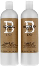Kup Zestaw kosmetyków do włosów dla mężczyzn - Tigi Bed Head Clean Up (shm 750 ml + cond 750 ml)