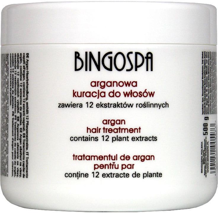 Arganowa kuracja do włosów - BingoSpa Argan Hair Treatment — фото N1