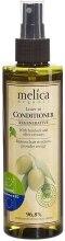 Kup Rewitalizująco-regenerująca odżywka do włosów z wyciągiem z łopianu i oliwek - Melica Organic Leave-in Regenerative Conditioner