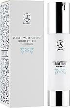 Kup Rewitalizujący krem przeciwzmarszczkowy do twarzy na noc - Lambre Ultra Hyaluronic