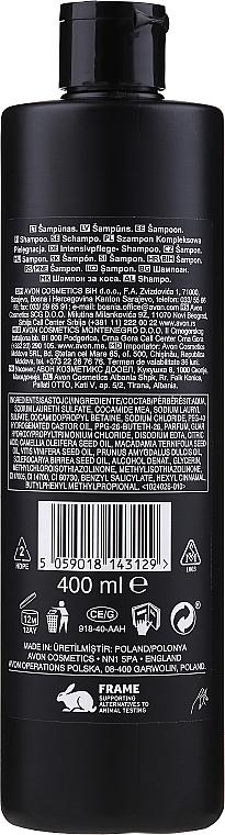 Luksusowy szampon odżywczy do włosów - Avon Advance Techniques Nutri 5 — фото N2