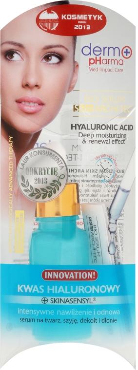 Serum na twarz, szyję, dekolt i dłonie Kwas hialuronowy - Dermo Pharma Bio Serum Skin Archi-Tec Hyaluronic Acid — фото N1
