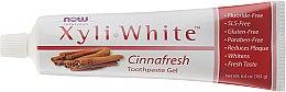 Cynamonowa pasta do zębów - Now Foods XyliWhite Cinnafresh Toothpaste Gel — фото N2
