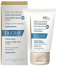 Kup Przeciwpigmentacyjny preparat do skóry rąk - Ducray Melascreen Global Hand Care SPF 50+