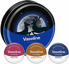 Kup Zestaw - Vaseline Lip Therapy Selection (balm/3x20g)