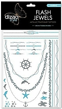 Kup Naklejki z tatuażami - Dizao Flash Jewels