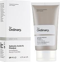 Kup Maseczka do twarzy z 2% kwasem salicylowym - The Ordinary Salicylic Acid 2% Masque