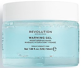 Kup Nawilżająca maska do twarzy - Makeup Revolution Skincare Warming Gel Moisturising Face Mask