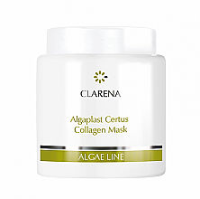 Kup Matująca maska do twarzy - Clarena Algae Line Algaplast Certus Collagen Mask