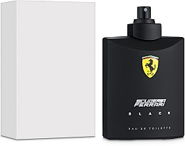 Ferrari Scuderia Ferrari Black - Woda toaletowa (tester bez nakrętki) — фото N2