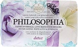 Kup Naturalne mydło w kostce Wawrzynek wonny, biały lotos i jeżówka - Nesti Dante Philosophia Detox