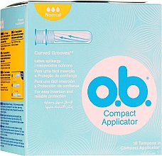 Kup Tampony z aplikatorem, 16 szt. - O.b. Compact Applicator Normal Tampons