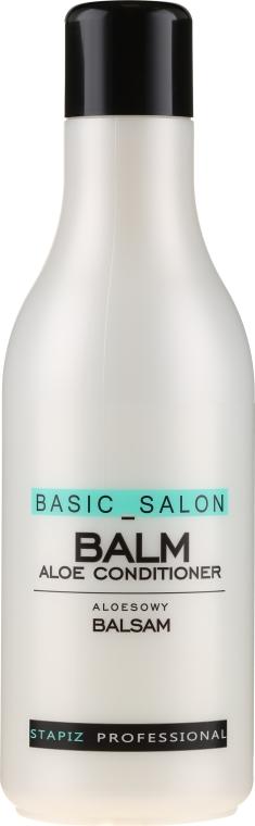 Aloesowy balsam do włosów - Stapiz Professional Basic Salon Balm Aloe Conditioner