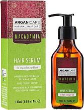 Kup Serum do suchych i zniszczonych włosów z olejem makadamia - Arganicare Macadamia Hair Serum for Dry & Damaged Hair